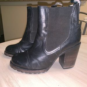 Freebird Leather Booties